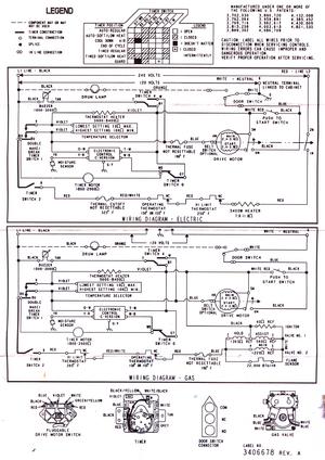 Kenmore 110 62832100 Htyp, Wiring Diagram For Kenmore Gas Dryer Model 110